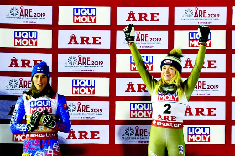 Vlhova sets up Shiffrin slalom showdown