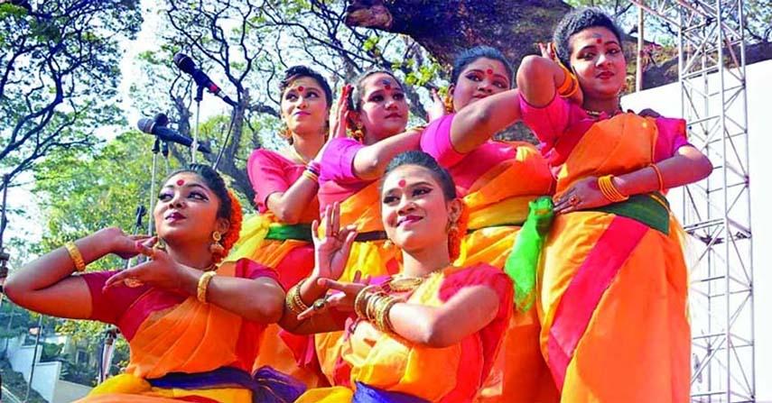 Pahela Falgun celebrated with festivity