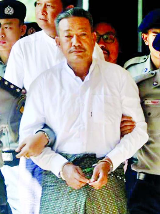 Myanmar court sentences two to death for Muslim lawyer\'s murder