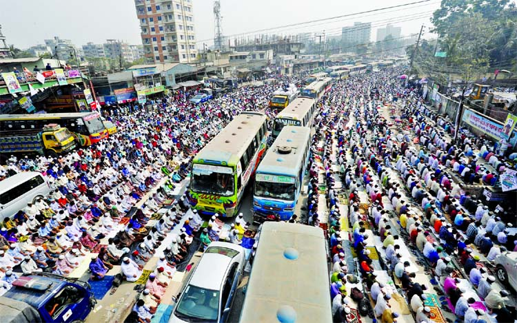 Thousands join Bishwa Ijtema