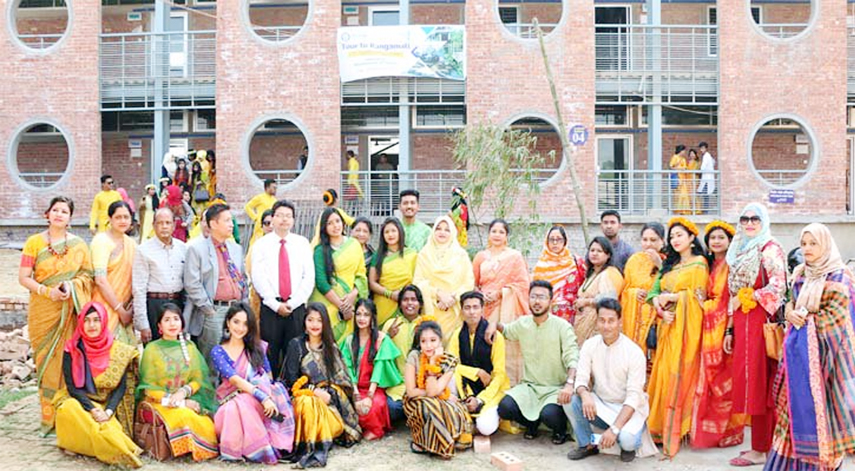 Pahela Falgun celebrated at SUB