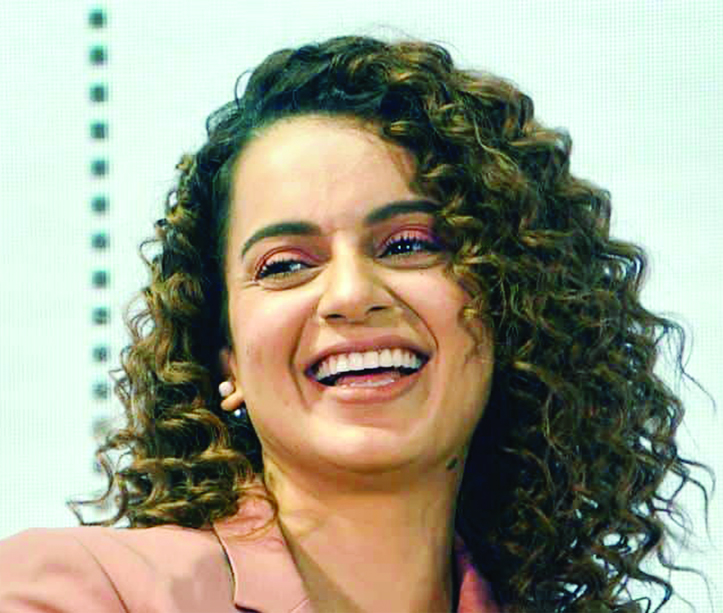 Kangana  to direct her own biopic