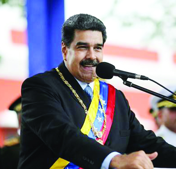 Maduro blasts US for 'stealing' billions, offering 'crumbs'