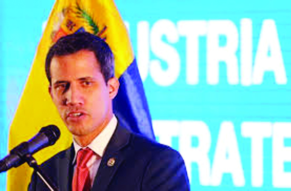 US tells EU to recognize Guaido as Venezuela president