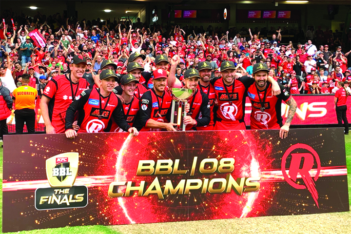 Melbourne Renegades beat Melbourne Stars to win Big Bash title