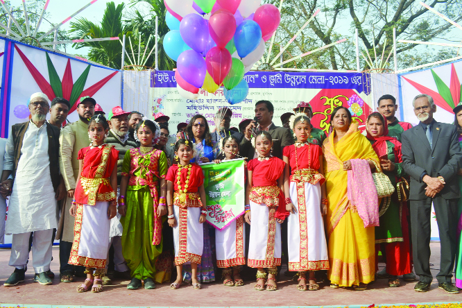 SIRAJDIKHAN (Munshiganj):  A cultural programme was arranged marking the  Land Development and Tax Fair  at Sirajdikhan Upazila organised by Upazila Administration on Saturday.