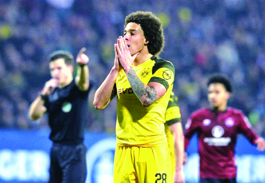 Dortmund drop more points at bottom side Nuremberg