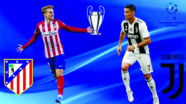 Atletico meet Juve in a clash of high stakes