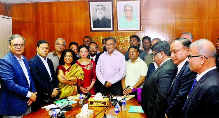 Media enjoying more freedom in BD: Hasan Mahmud