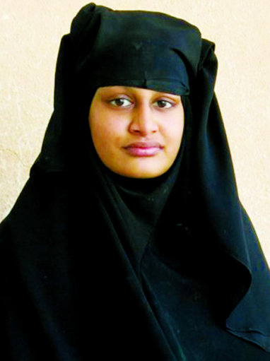 ISIL bride' Shamima to seek Dutch citizenship