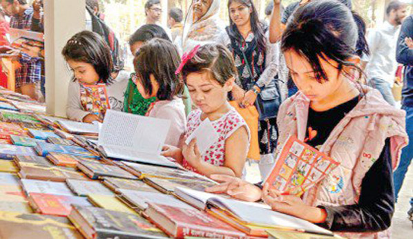 Huge crowds throng Combined Ekushey Book Fair