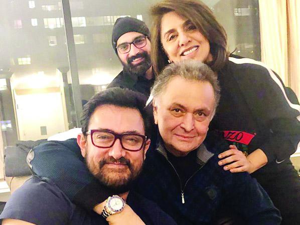 Aamir Khan visits Rishi Kapoor