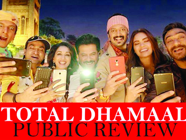 Audience give  thumbs up to Total Dhamaal