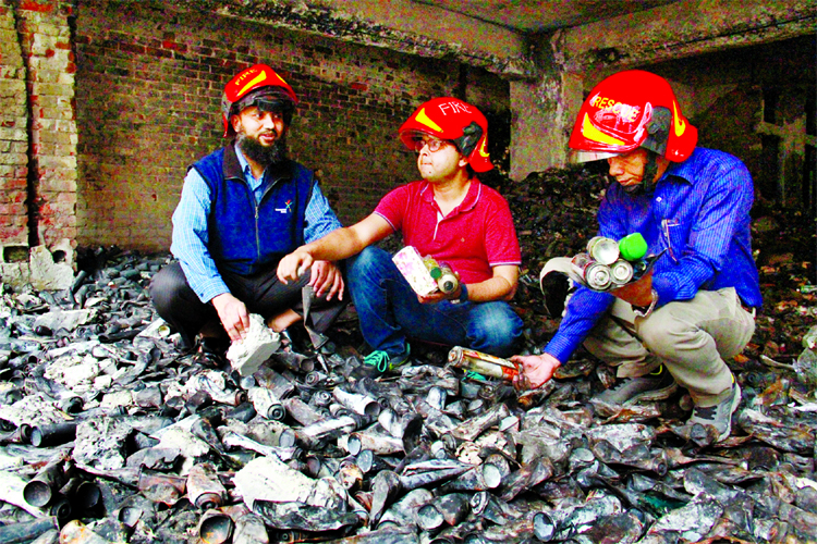 BUET Chemical Engineering Department experts collecting