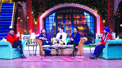 The Kapil Sharma Show: Mika Singh and Daler Mehndi grace the stage