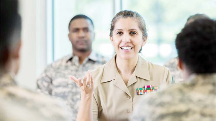 Business students can learn from the army