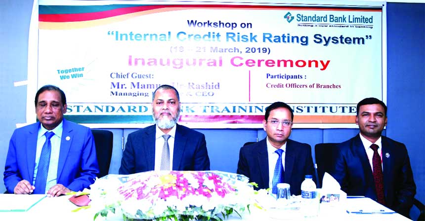 Mamun-Ur-Rashid, Managing Director of Standard Bank Limited, presiding over a four-day long workshop on