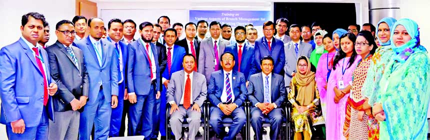 Md. Quamrul Islam Chowdhury, Managing Director of Mercantile Bank Limited, attended at a day-long training course on