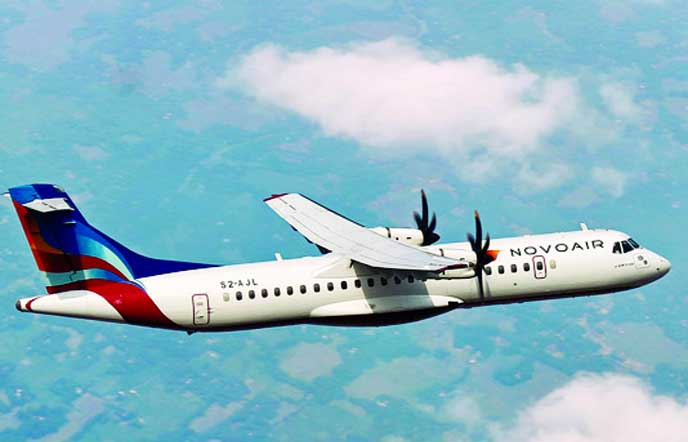 Novoair offers discount centering Dhaka Travel Mart