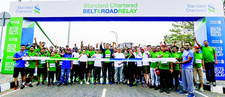 StanChart launches global running event along Belt and Road