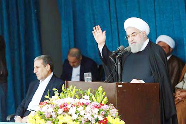 Rouhani says Iran will file legal case against US for sanctions