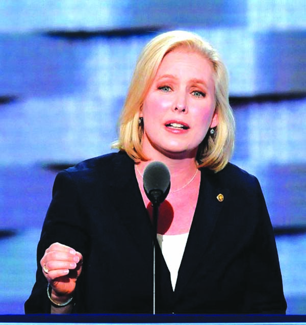 NY Senator Gillibrand announces presidential run