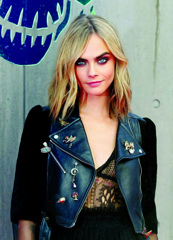 Hope to inspire girls who aren't normal: Cara Delevingne