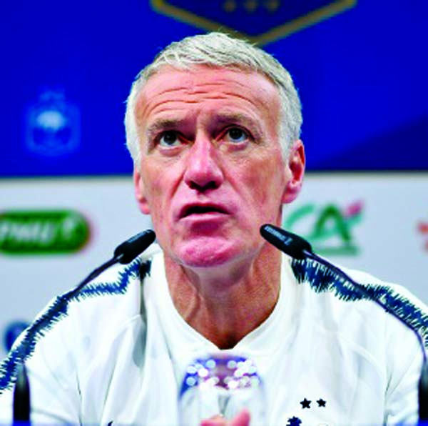 'Wary' Deschamps warns France ahead of Moldova trip