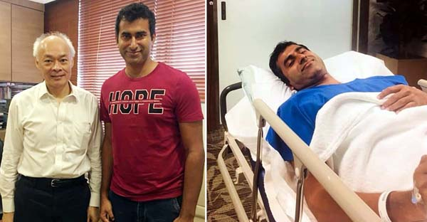 Cricketer Mosharraf undergoes successful brain surgery