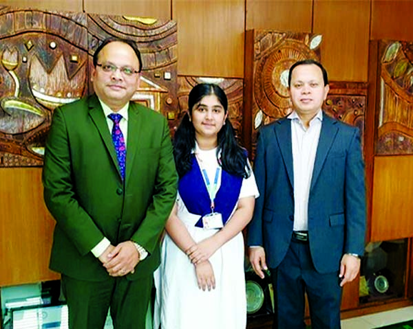 First Bangladeshi girl in UN edn confce
