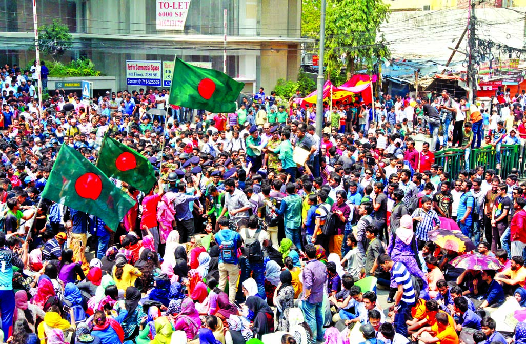 BUP students halt protest till Mar 28, a large portion vows to continue