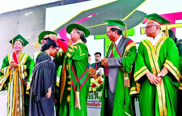 5th convocation of IUBAT held