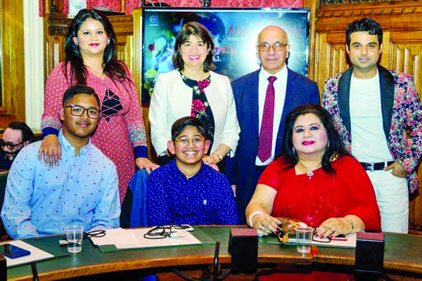 Runa Laila's grandson's album launched at House of Commons