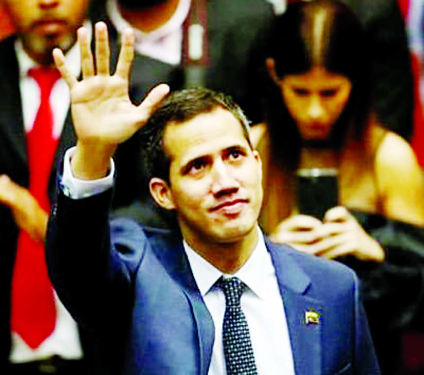 Venezuela's Guaido says intelligence agents detained his chief of staff