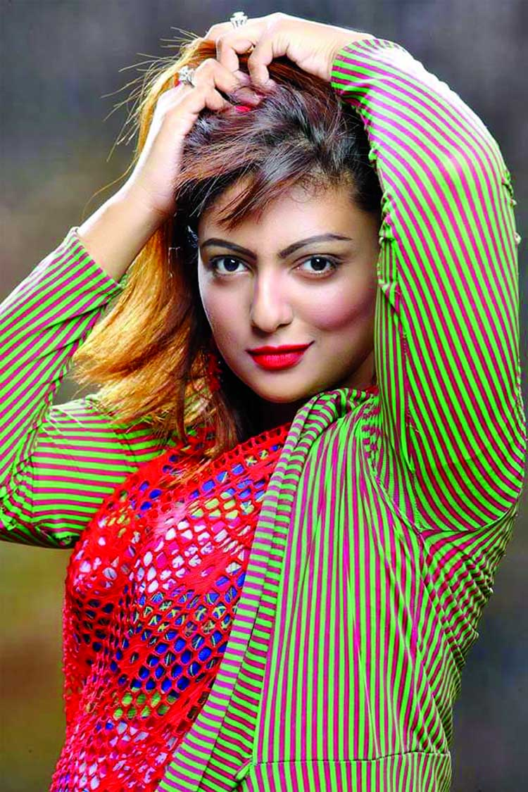 Susmita Sharlin busy in showbiz