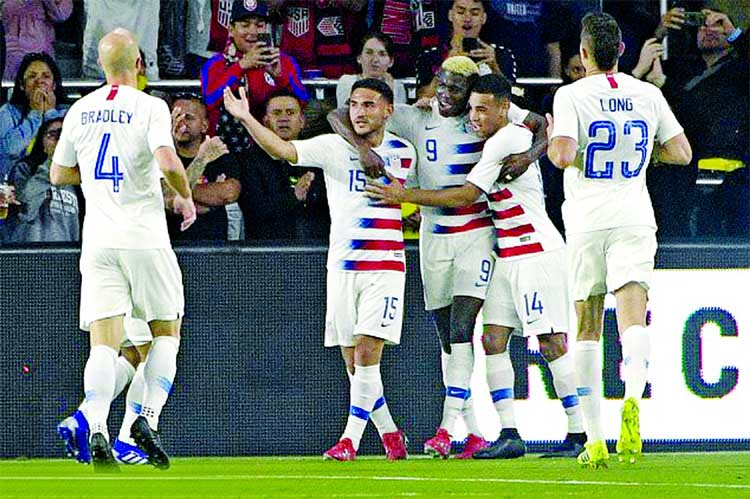 US beat Ecuador 1-0 in int'l friendly soccer
