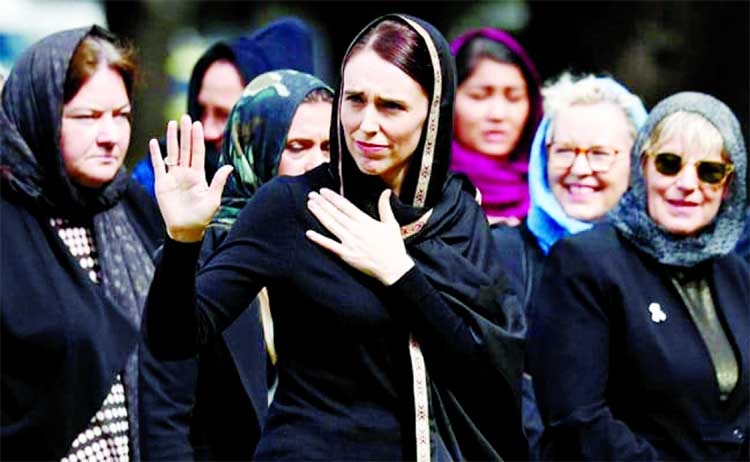 'We are one' says PM Jacinda as NZ mourns with prayers, silence