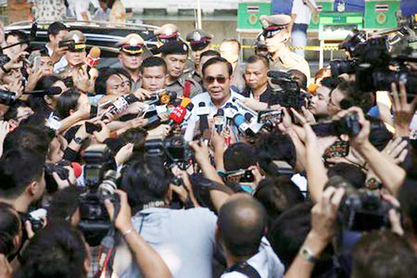 Thailand's coup leader and 'democratic front' face-off in long-awaited election