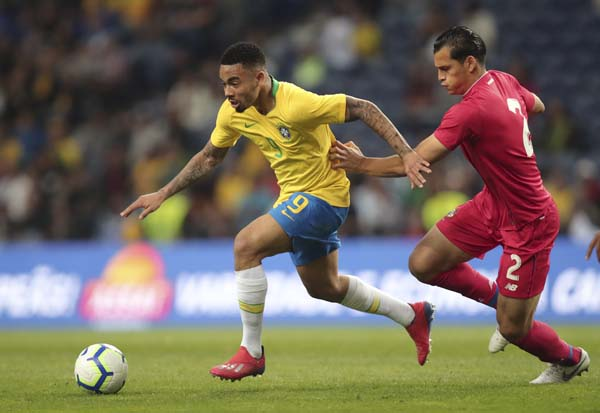 Brazil denied victory by determined Panama