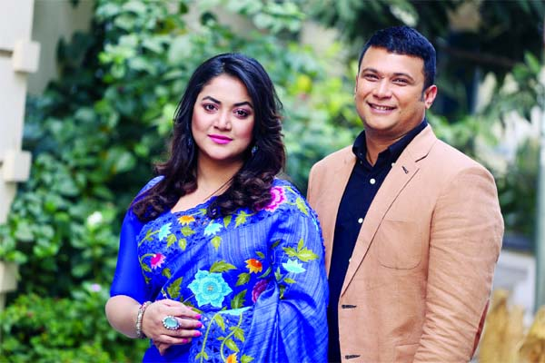 Urmila, Nayeem pair up for drama serial