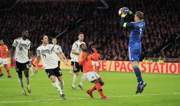 Schulz grabs late winner as Germany beat Netherlands 3-2