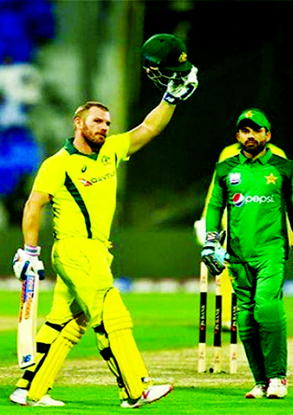 Fantastic Finch punishes Pakistan in Australia's win