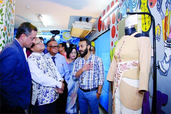 Yellow Beximco Shanto Mariam University Arrange Fashion Fest