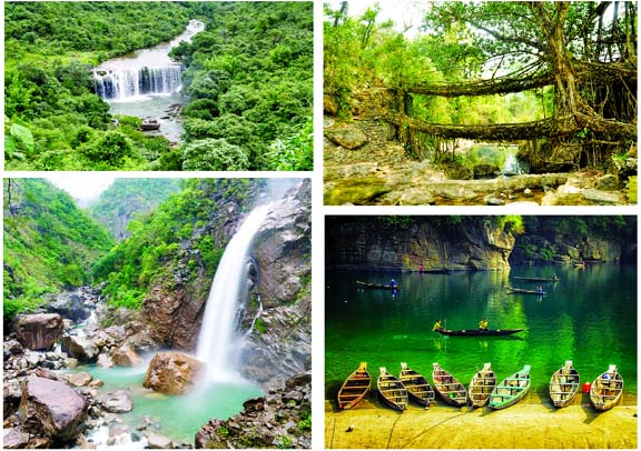Enjoy the Meghalaya