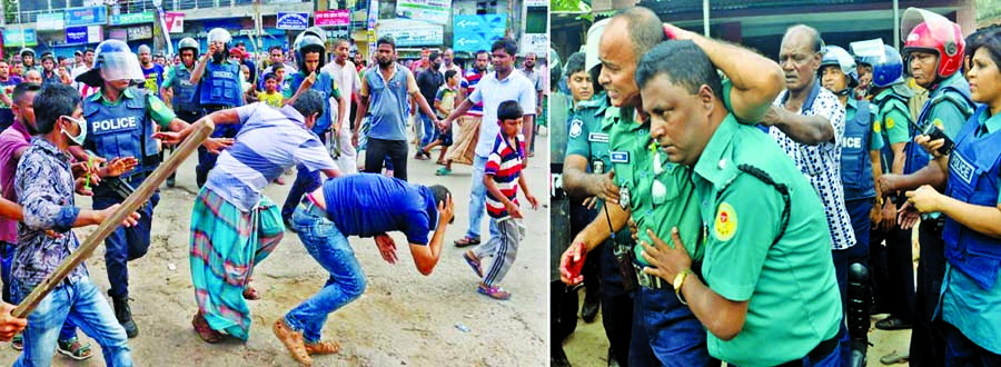 50 hurt on last day strike : Angry protesters hurl stones at railway passengers