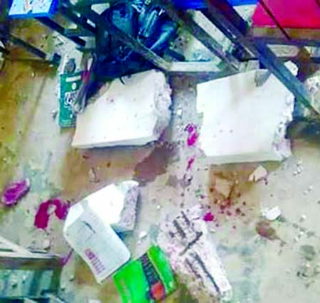 Pry school's ceiling collapses: Student dies