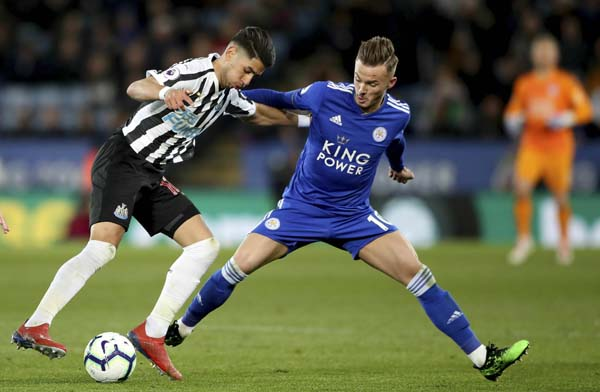 Perez heads Newcastle closer to Premier League safety