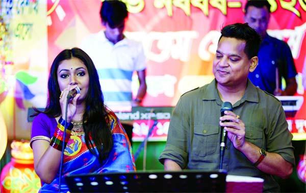 Nandita-Sohel Mehedi's performance at Dhaka Ladies Club