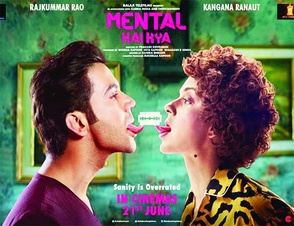 Kangana, Rajkummar's Mental Hai Kya gets the release date