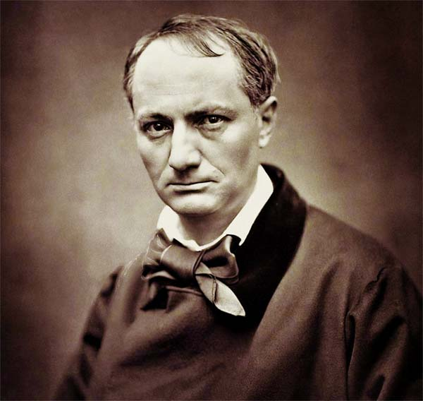 Poet, author, critic Charles Baudelaire